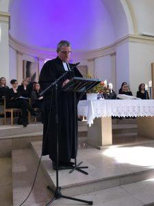 Gerhard Koepke in der Stadtkirche St. Wendel