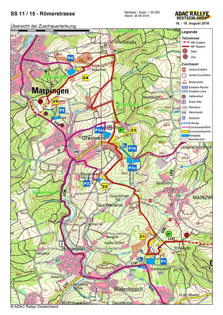 Adac Karte Verloren.Informationen Für Motorsportfans Und Anwohner Zur Adac Rallye Am 18