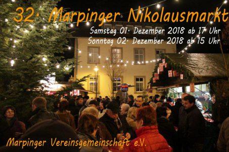 Plakat Nikolausmarkt